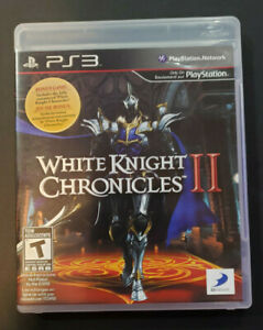 Whiite Knight Chronicles II PS3 PlayStation 3 - Game and Box (NO MANUAL)