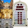 Digital Automatic Wall Table Azan/Athan Clock Prayer Times Mosque Ramadan  NEW