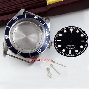 41mm sapphire glass Watch a set of Case + dial + hand fit ETA 2824 2836 MOVEMENT