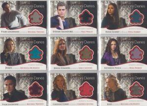 The Vampire Diaries Season 2 Costume / Wardrobe Card Selection