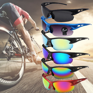 2x Sports Cycling Running Golf Biking Riding Sunglasses Goggles Unisex