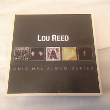 Lou Reed - Original Album Series - CD X 5 (2013) Alt. Rock Art Rock Punk