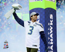 Russell Wilson YOUR TROPHY Seattle Seahawks Super Bowl Champions Premium POSTER