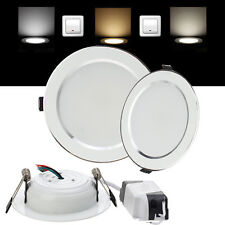 Painel de LED luzes de teto embutido de downlights 3W 5W 7W 9W 12W 15W 18W 220V Lâmpada