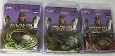 Outkast Tackle Stealth Feider Jig 5/8oz. (Lot of 3)