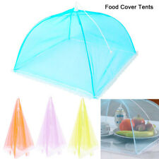 """Mesh Food Umbrella Covers Picnic BBQ Party Folding Tent White 17"""""""