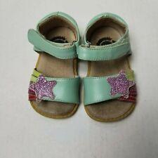 Toddler Girls Size 4 Livie & Luca Nova Blue Sandal Shoes