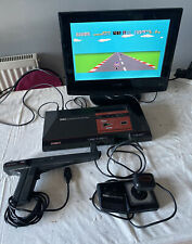 Sega Master System Video Games Console + All Wires Light Phaser Retro GWO