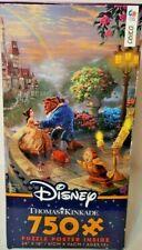 CEACO Thomas KinKade Beauty & the Beast Falling In Love 750 Piece Puzzle Disney