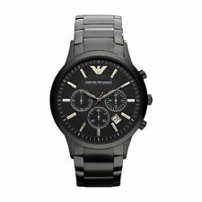 Emporio Armani Stainless Steel Case Men's Casual Watches