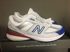 Mens New Balance M990 V4 WHITE/RED/BLUE  Running Shoe M990NB5 JULY 4 NEW