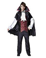 DRACULA Classic Vampire Adult Mens Halloween Costume Large NEW Bonus Medallion