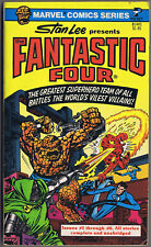 STAN LEE Presents THE FANTASTIC FOUR Pocket Comic Books 1977 paperback 1st Print