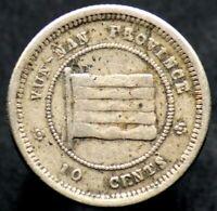 10 CENTS 1923 CHINE / CHINA / YUNNAN - 1 jiao / 10 fen