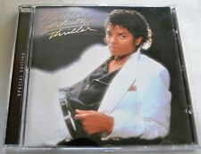 Michael Jackson Thriller 2001 UK Special Edition 15 trk Remastered GOLD DISC CD