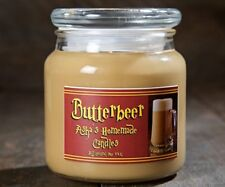 Harry Potter Butterbeer Soy Candle 16oz, Wizarding World, Hogsmeade, Hand Poured