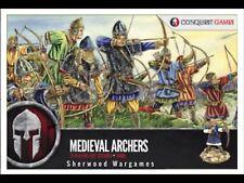 28mm Medieval Archers (bowmen)  ConquestGamesPlastics, Swordpoint, Medieval Saga