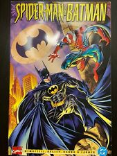 Spiderman and Batman 'Disordered Minds' Mashup Comic, Raised Cover (DC,1995)