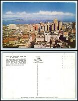 CALIFORNIA Postcard - San Francisco, From Top Of The Mark A1