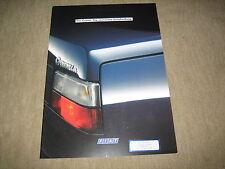 FIAT CROMA opuscolo brochure prospetto di 1/1989, 36 PAGINE ADESIVI