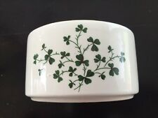 Vintage Carrigaline Pottery Shamrock Ashtray Cork Ireland