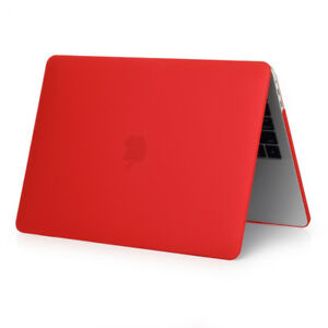 """PC Rubberized Soft Touch Hard Case Cover For MacBook Pro 13""""/15"""" 11""""/13"""" Air"""
