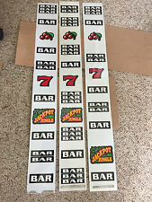 IGT Used S-Plus slot machine JACKPOT JUNGLE REEL STRIPS
