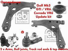 FEBI SUSPENSION UPDATE KIT CORRADO VR6 GOLF MK3 GTI VR6 5 STUD (2X ALL ITEMS)