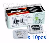 Energizer 362 SR721SW Silver Oxide Battery x 10 pcs, Made in USA FREE POST WW