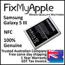 Samsung Galaxy S III S3 Original Genuine i9300 i9305 NFC Li-ion Battery 2100 mAh