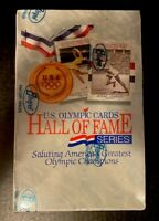 1991 Impel U.S. Olympic Hall Of Fame Series Factory  Sealed Trading Card Box