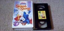 The Sword In The Stone WALT DISNEY CLASSIC UK PAL VHS VIDEO 1986 Merlin Arthur