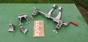 ZYLISS 4in1 mobiler Schraubstock Schraubzwinge Hobelbank Klemmwinge, SWISS Made