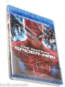THE AMAZING SPIDER MAN blu ray edizione speciale 2 dischi