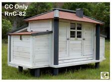 RC82 X 4 Backyard Chicken Coop Hen House Rabbit Hutch
