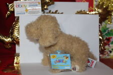 WEBKINZ LABRADOODLE DOG.COMES WITH SEALED/UNUSED CODE/TAG-NICE GIFT
