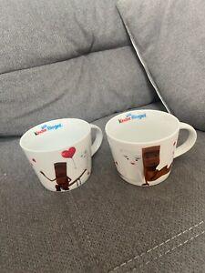 2x Kinder Riegel Tassen Set Tasse Neu Unbenutzt