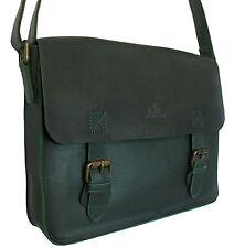 70% off Rowallan Women's Green Leather Satchel Shoulder Bag