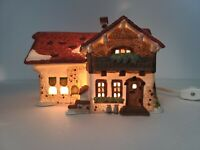 Dept 56 JOSEF ENGEL FARMHOUSE Rare Retired Porcelain Alpine Village Series 59528