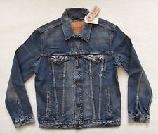 Men's Levis Trucker Jacket Blue Denim Jean Jacket Size M