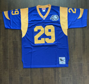 Eric Dickerson Los Angeles Rams Throwback Mens Jersey Size 52 Free Ship (D2)
