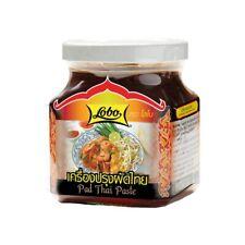 Pad Thai Paste im Glas 280g für gebratene Nudeln von Lobo Paste für Bratnudeln