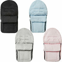 Dimple Fleece Car Seat Footmuff / Cosy Toes Baby Compatible with Cybex