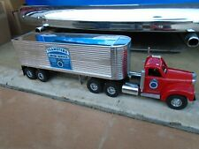 SMITH MILLER B MACK TEAMSTER TRUCK  AND TRAILER  VERY NICE SET