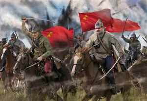 Strelets 1/72 Red Cavalry in Summer Dress # 164
