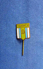 football/soccer pin USSR DINAMO TBILISI little electric green shield enamel rare