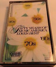 50 YEARS OF MUSIC AMERICA LOVES BEST Tape Cassette 3 PLEASURE PROGRAMMED DIGITAL