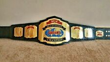 WCW TBS World TELEVISION Wrestling Championship Belt Replica Adult Size