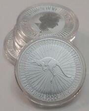 2020 P Australia .9999 Fine Silver Kangaroo 1 oz - $1 BU in Capsule
