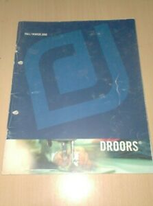catalog vintage skateboard droors clothing fall 2000   ...............E